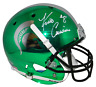 KIRK COUSINS AUTOGRAPHED MICHIGAN STATE SPARTANS FULL SIZE CHROME HELMET BECKETT
