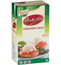 KNORR HOLLANDAISE SAUCE 1 LITRE - 11/11/2020 BEST BEFORE + FREE POST