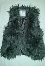 Girls faux fur vest by Justice for Girls/Size 10/Gray