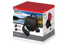 Canon EOS Accessory Kit, Deluxe gadget bag + Battery, NEW Sealed Box