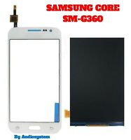 DISPLAY +TOUCH SCREEN per SAMSUNG GALAXY CORE PRIME SM-G360F G360H BIANCO VETRO