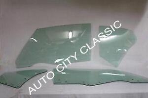 1970 - 1971 Oldsmobile Cutlass Supreme 2 Door Coupe Glass Door Quarter Green