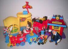 Bundled Lot DISNEY Mickey Mouse Train / Firetruck / Push N Go Car