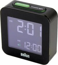 Braun funkreisewecker BNC 008 bkbk 660152 LCD RADIO-RÉVEIL
