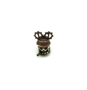 Pipe Skull DIY Pendant Vintage Beads Lanyard EDC Knife Keychains Bead Knife