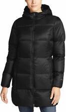Eddie Bauer Women's Luna Peak Water Resistant Down Parka Jacket, Black XL