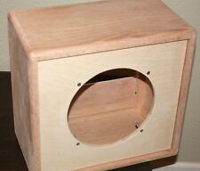 rawcabs Oak 1x10 open back rear load unloaded speaker cabinet