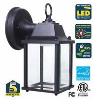 CORAMDEO Outdoor LED Wall Sconce Light - Durable Cast Aluminum