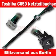Para Toshiba L350 L350d L355 L355d L500 A505D Socket de Red Toma Corriente Dc