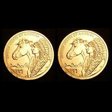 2012 P+D Native American Sacagawea Set ~ PD from Original US Mint Set
