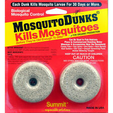Summit Pond Mosquito Dunks 2 Pack Kill Larvae. Free Shipping In The Usa