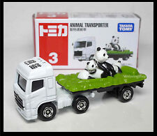 TOMICA #3 HINO PROFIA ZOO PANDA ANIMAL TRANSPORTER TRUCK TOMY 2012 APRIL MODEL