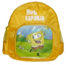 New SpongeBob Squarepants Yellow Kids Baby Rucksack Backpack Bag