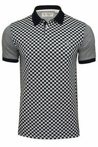 Original Penguin Mens Check Front Polo T-Shirt