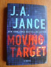 J.A. Jance Moving Target 1st ed HC SIGNED New