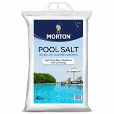 High Purity Pool Salt 3460 Great for Use with Salt Water Chlorinators - 40lbs