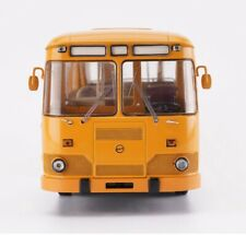 New 1/43 Scale Former Soviet Union Liaz 677m Bus Static Display 3D Alloy Model