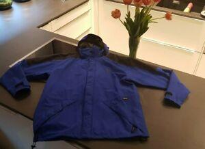 Salewa Damen Jacke mit abnehmbarer Kapuze Gr. 52 / XL, Blau, GORE-TEX, wie NEU