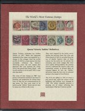 QV Stamps -Jubilee Definitives To 1/ in Westminster Folder with COA