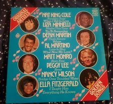 Original Artists Golden Songs LP Dean Martin, Ella Fitzgerald – MFP 50246 – VG