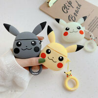 Japan Pikachu Pokemon Earphone Cover Holder Bag for Apple Airpods Charging Case