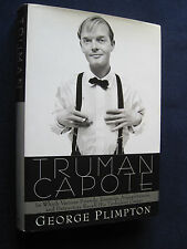 TRUMAN CAPOTE by GEORGE PLIMPTON - From GORE VIDAL Library with His Estate Stamp