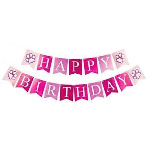 Dog Birthday Party Supplies Hat Happy Birthday Banner Bandana blingbling Bowtie