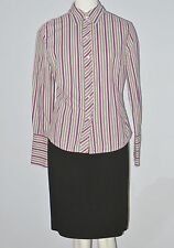 GAP Size S Multi-Color Striped Button Up Long Sleeve Shirt