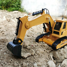 Excavator Construction Truck Toy 360° Rotation Tractor Excavator Model Toy Gift