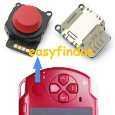 FOR PSP 2000 SERIES SLIM Repair Button Analog Joystick RED NEW