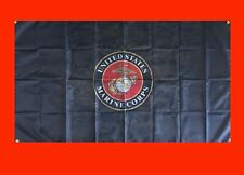 LARGE United States Marine Corps Banner Flag Poster