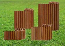 Beetumrandung Rasenkante Beeteinfassung Rasenkanten Hartholz Bangkirai 40x180 cm