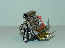 Engine and Transmission Replica 1934 Blown 426 Nitro Coupe Drag 1/18 by GMP
