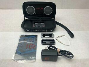 Quicksilver Edition Sonic Impact - Apple Ipod Dock Portable Speaker I-P23 Alarm