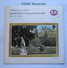 478 433 - SCHUBERT String Quartet No 5  THE AMADEUS QUARTET - Ex Con LP Record