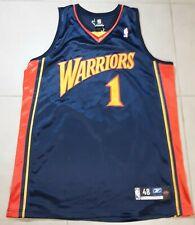 Men's Troy MURPHY #1 Players Issued Warriors Jersey Sz 48 Season Home Reebok