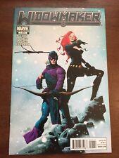 Widowmaker Marvel Comics Black Widow Hawkeye 1A 2011 Book Comic Signed Jae Lee