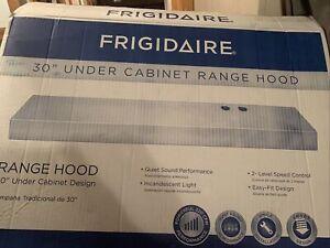 Frigidaire 30 inch under cabinet range hood Black FHWC3025MB