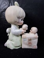 """Precious Moments """" Always Room For One More """" Figure In Box Retired"""