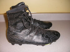 UNDER ARMOUR Black Cleats Size 14