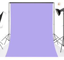 5X7FT Polyester Backdrop Solid Rose Purple Blue Studio Photography Background 19