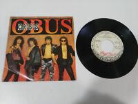 """OBUS Crisis + Jüngste Gericht Single 7 """" Vinyl 1987 Chapa Scheiben Merchandise -"""