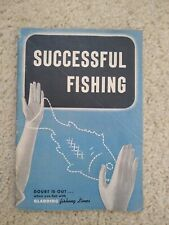 1949 Gladding Successful Fishing Action Tested Fishing Lines Catalog