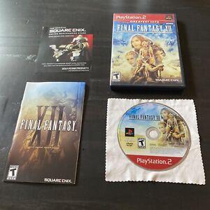 Final Fantasy XII 12 FFXII FF12 (Sony PlayStation 2 PS2, 2006) Complete. Mint!