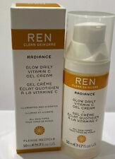 REN CLEAN SKINCARE RADIANCE GLOW DAILY VITAMIN C GEL CREAM 50ml - NEW