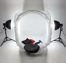 80cm Studio Photography Quality Soft Box Light Photo Tent Cube 4 Color backdrop
