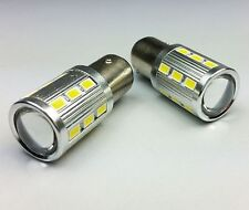 P21/5W 380 BAY15d WHITE 5630 CREE LED TAIL STOP CAR BULBS B