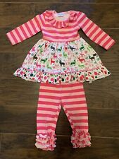 Toddler Girl  2T Winter Botique Outfit.