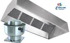 New 10 Ft Range Hood Exhaust Filter Kitchen Restaurant Nsf Certified Commercial