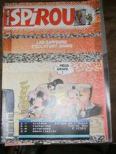 Spirou N° 3395 2003 BD Les zappeurs Cupidon Cédric Papyrus Les petits hommes